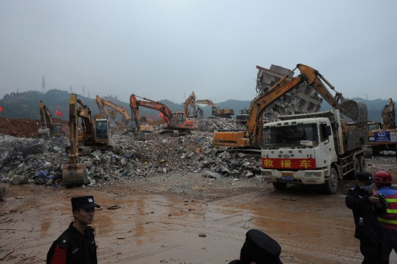The latest China landslide comes just months after at least 58 workers were killed by a similar disaster in Shenzhen, Guangdong province