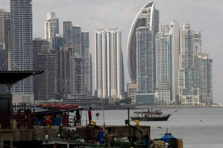 Panama City, where Mossack Fonseca is based. Photo: Bloomberg