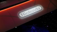 A Nintendo video game logo is seen at the Electronic Entertainment Expo, or E3, in Los Angeles, California, United States, June 17, 2015.