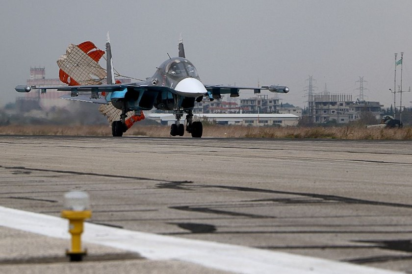 Russia launched its Syria bombing campaign on September 30