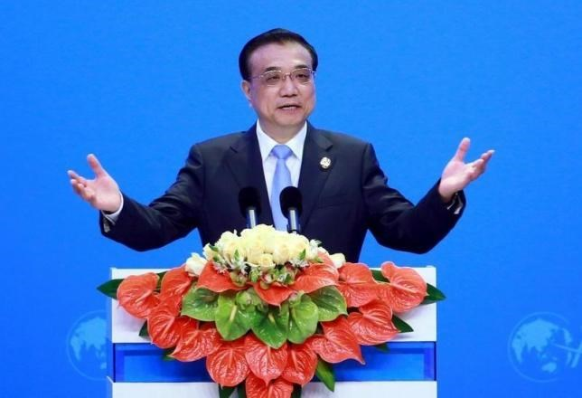 China's Premier Li Keqiang speaks at the opening ceremony of Boao Forum in Boao, Hainan Province, China, March 24, 2016.