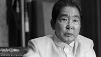 Late Philippine dictator Ferdinand Marcos was in power from 1965-1986