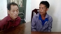Cho Cha, 38, from Laos' Xiangkhouang Province, and Gia Tua Rua, 54, were arrested for alleged trading of drugs