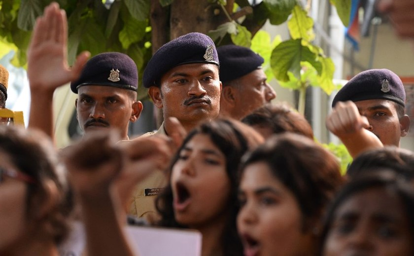 There has been anger in India about high numbers of attacks against women