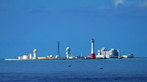 China's illegal construction in Vietnam's East Sea reef