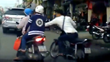 Yet another bike-riding bag snatcher busted thanks to dashcam footage in HCMC