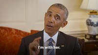 U.S. President Barack Obama appears in a still image from a video released on June 9, 2016 in which he endorses Democratic presidential candidate Hillary Clinton, in Washington, D.C., United States.