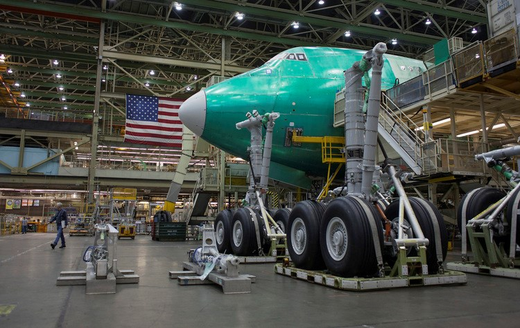 Boeing said near $4 billion deal with Russian firm to save 747