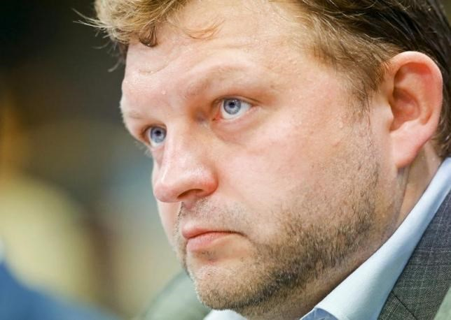Nikita Belykh, Governor of Kirov region, attends the St. Petersburg International Economic Forum 2015 (SPIEF 2015) in St. Petersburg, Russia, June 18, 2015.