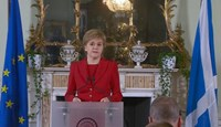 Scotland's First Minister Nicola Sturgeon speaking following the results of the EU referendum.