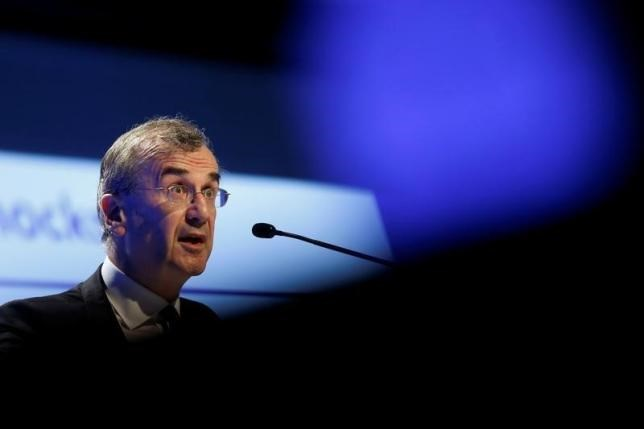 French Central bank Governor Francois Villeroy de Galhau attends the 2016 Institute of International Finance (IIF) Spring Membership meeting in Madrid, Spain, May 25, 2016.