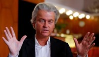 Dutch far-right Party for Freedom leader Geert Wilders answers questions during a Reuters interview in Budapest after Britain voted to leave the EU.