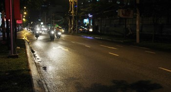 A section of Vo Thi Sau St. where a bag-snatching took place on Jun. 27, resulting in the death of a young woman