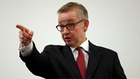 Britain's Justice Secretary, Michael Gove, delivers his speech after announcing his bid to become Conservative Party leader, in London, Britain July 1, 2016.