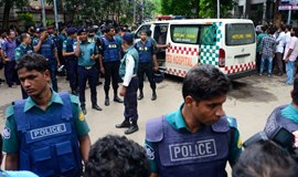 Foreigners herded to death in Bangladesh cafe horror