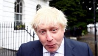 Vote Leave campaign leader Boris Johnson leaves his home in London after the results of the Brexit vote.