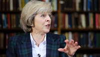 Interior minister and Conservative leadership frontrunner Theresa May