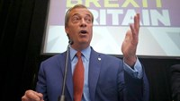 Nigel Farage, the leader of the United Kingdom Independence Party (UKIP), speaks at a news conference in central London, Britain July 4, 2016.