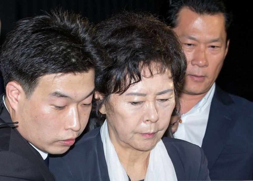 Lotte heiress arrested in South Korea amid bribery probe