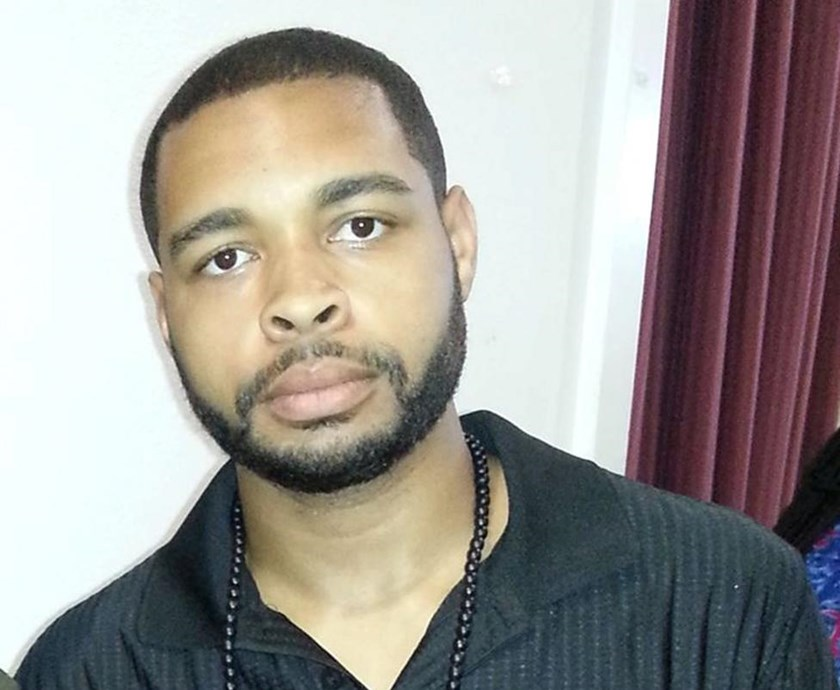 Micah Xavier Johnson, a man suspected by Dallas Police in a shooting attack and who was killed during a manhunt, is seen in an undated photo from his Facebook account. Micah X. Johnson via Facebook/via Reuters