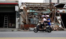 Super typhoon hits Taiwan, cutting power and transport
