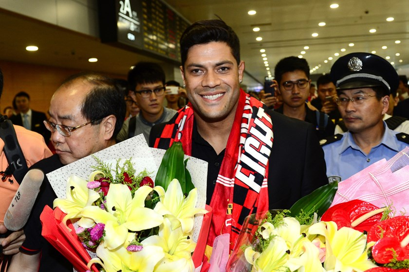 Hulk arrives in Shanghai on June 29. Photographer: VCG via Getty Images