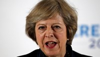 Britain's Home Secretary Theresa May speaks during her Conservative party leadership campaign at the Institute of Engineering and Technology in Birmingham, England, Britain July 11, 2016