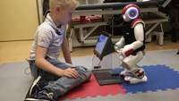 Charlie robot new best buddy for kids with diabetes
