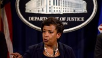 U.S. Attorney General Loretta E. Lynch announces the filing of civil forfeiture complaints seeking the forfeiture and recovery of more than $1 billion in assets associated with an international conspiracy to launder funds misappropriated from a Malaysian sovereign wealth fund 1MDB in Washington July 20, 2016.