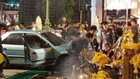 Car slams into Bangkok's Erawan shrine, injures 7