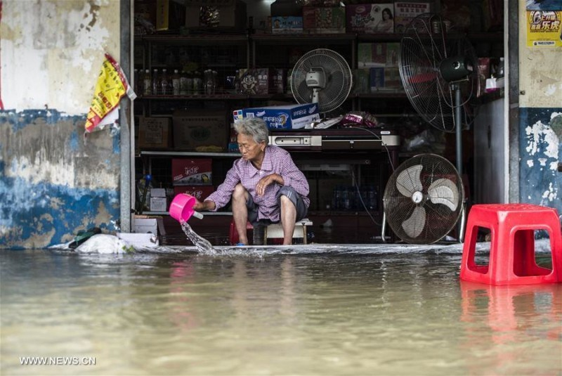 Heavy rain in China kills at least 24, millions evacuated
