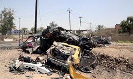 Suicide bombing north of Baghdad kills 16, Islamic State claims attack