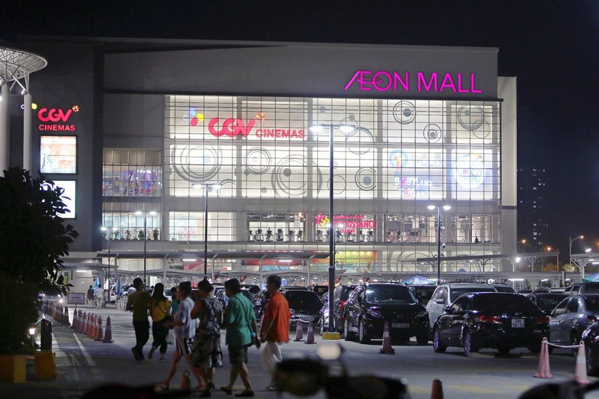 AEON Mall in Hanoi, Vietnam. Photo: Bloomberg