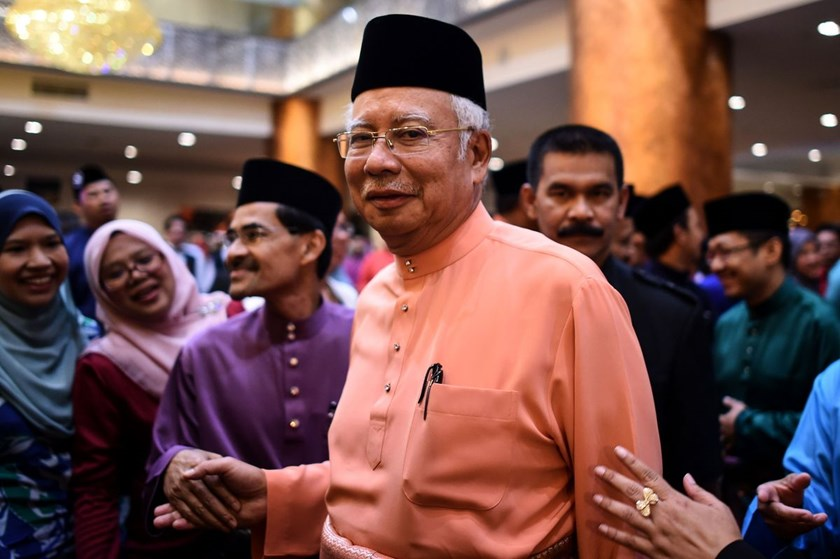 Najib Razak. Photo: AFP via Getty Images