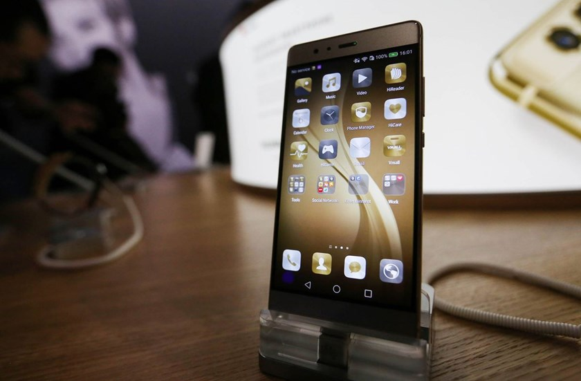 A P9 smartphone, manufactured by Huawei. Photo: Bloomberg