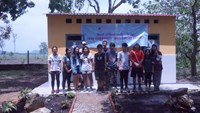 Grade 11 students at European Int'l School HCMC rebuild sanitation facilities at Ta Lai village school