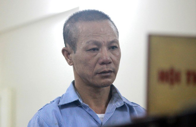 Nguyen Van Ky at the trial. Photo credit: Van Thanh/Zing