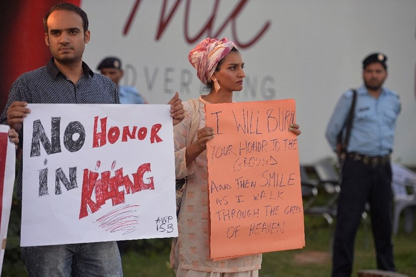 """Honour"" killings -- a custom in which a relative is killed by another for bringing the family dishonour -- are a near daily occurrence in Pakistan"
