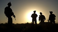 There are about 9,800 US troops in Afghanistan with a mission to advise and assist the Afghan military but also to fight extremist groups like Al-Qaeda or IS