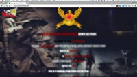 The website of Vietnam Airlines is defaced by hackers on Friday