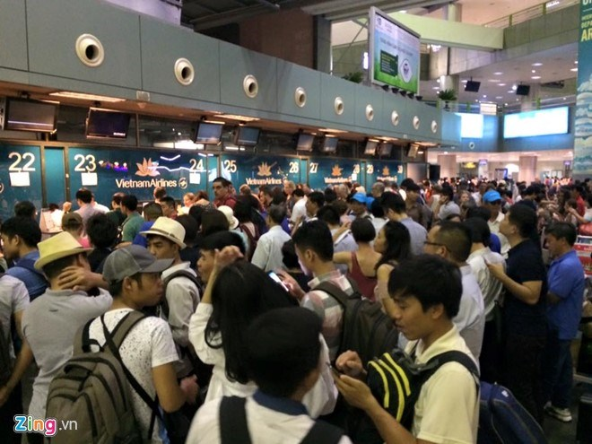 More than 100 flight delayed due to cyber-attacks at Vietnam's