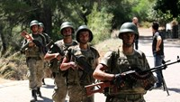 Turkish soldiers search for missing military personnel suspected of being involved in the coup attempt in Marmaris, Turkey, July 18, 2016.