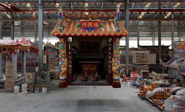 Taiwan firm's concrete temples save worshippers time and money