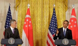 Obama, Singapore leader push Pacific trade deal in state visit