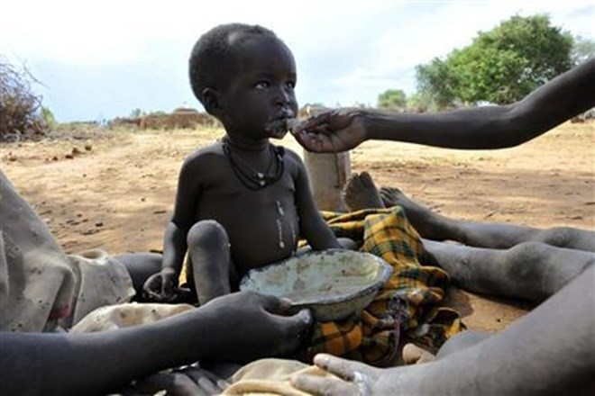 Child hunger here to stay unless world 'dramatically changes course': charity