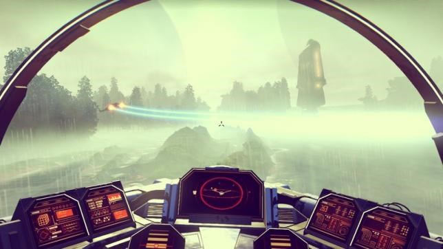 A screenshot from the new computer game ''No Man's Sky'' is seen in this undated handout photo. REUTERS/Hello Games/Handout