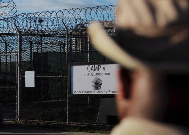The outside of the ''Camp Five'' detention facility is seen at U.S. Naval Station Guantanamo Bay December 10, 2008 in this pool image reviewed by the U.S. military.