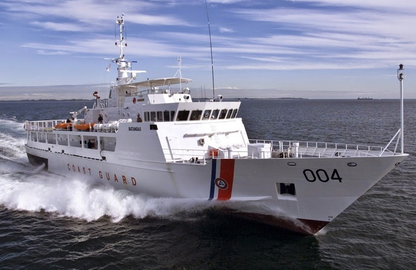 A search and rescue vessels in the Philippine Coast Guard