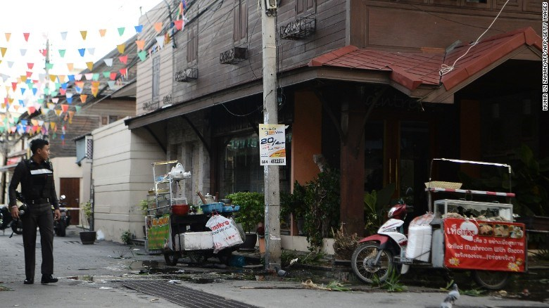 Two blasts heard in Thai resort hours after overnight bombings: witness