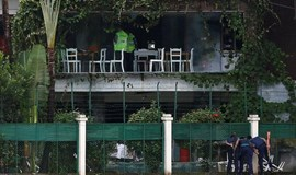 Bangladesh police name third prime suspect in July cafe attack